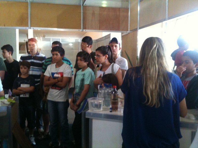 Estande do CNPq na SNCT 2012